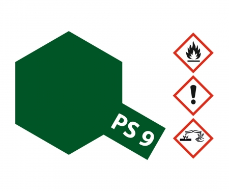 tamiya PS-9 Green Polycarbonate 100ml