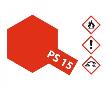 tamiya PS-15 Metallic Red Polycarbonate 100ml