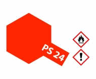 tamiya PS-24 Flourescent Orange Polycarb. 100ml