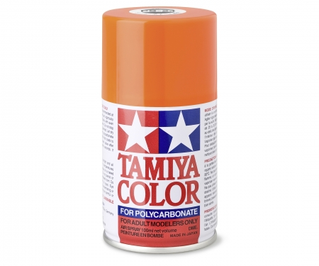 tamiya PS-24 Flourescent Orange Polycarb. 100ml