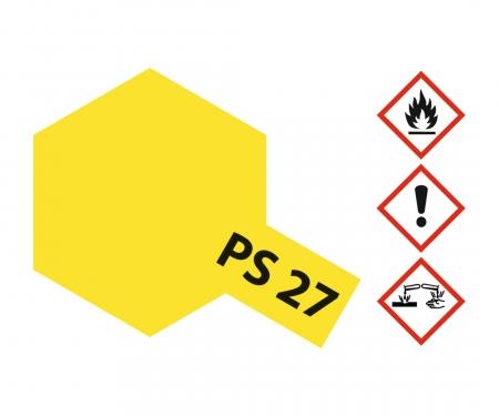 tamiya PS-27 Flourescent Yellow Polycarb. 100ml