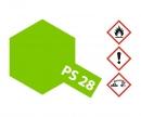 tamiya PS-28 Flourescent Green Polycarb. 100ml