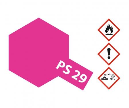 tamiya PS-29 Flourescent Pink Polycarb. 100ml