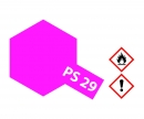 tamiya PS-29 Flourescent Pink Polycarb. 100ml