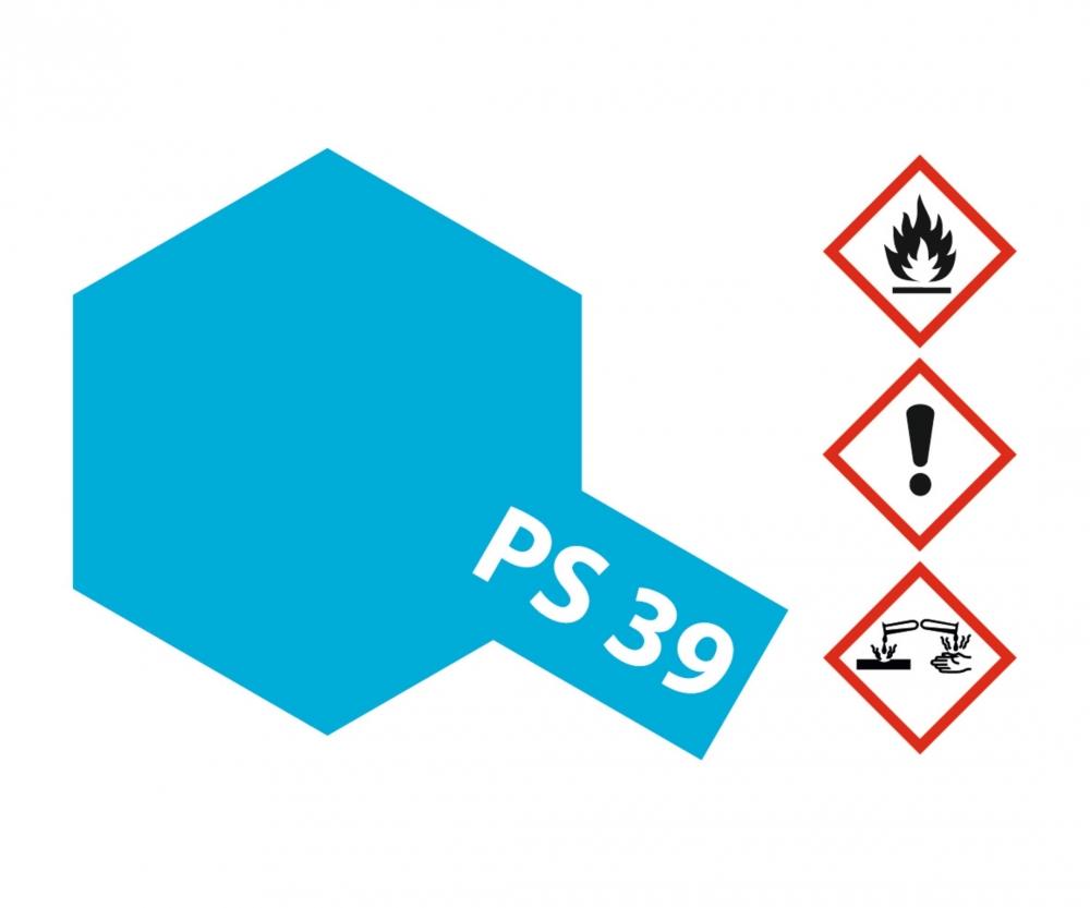 Ps 39 Translucent Hellblau Polyc 100ml Ps Farben Farben Lacke