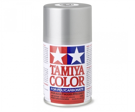 tamiya PS-41 Bright Silver Polycarb. 100ml