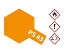 tamiya PS-43 Translucent Orange Polyc. 100ml