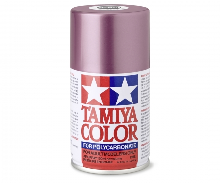 tamiya PS-50 Alu-Effect Red Polyc. 100ml