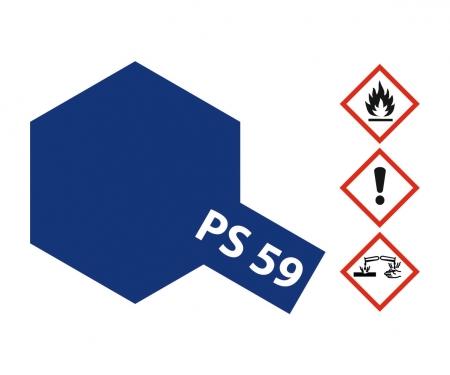 tamiya PS-59 Dark Metallic Blue Polycarb. 100ml