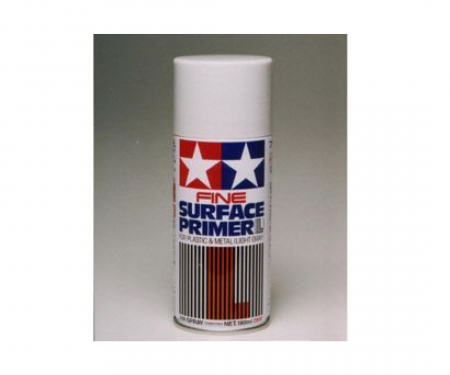 tamiya TAMIYA Fine Surface Primer Lt.Grey 180ml