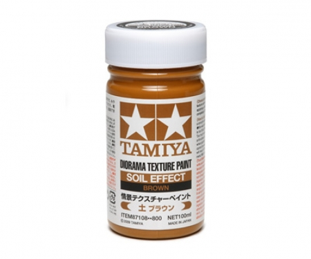 tamiya Diorama Texture Paint Soil/Brown 100ml