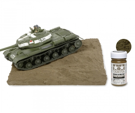 tamiya Diorama Text. Paint Soil /Drk.Earth100ml