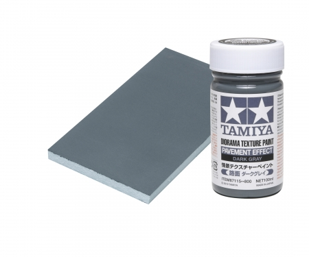Diorama Text.Paint Pavement/Dk.Grey100ml