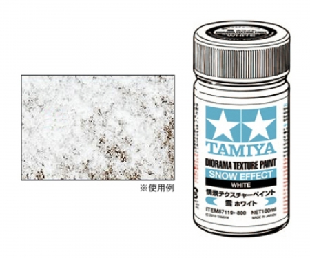 tamiya Diorama Text.Paint Snow/White 100ml