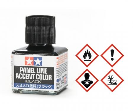Panel Accent Color Schwarz 40ml