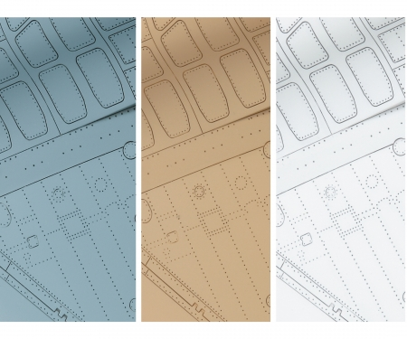 Panel Accent Color Braun 40ml