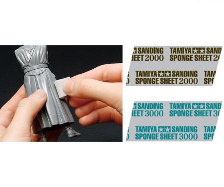 tamiya TAMIYA Sanding Sponge Sheet 2000