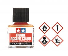 Panel Accent Color Figur Pink-Brown 40ml