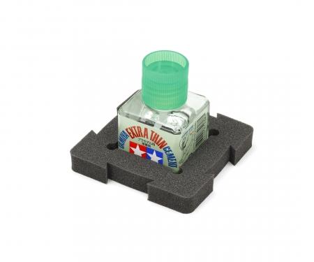 tamiya 40ml Square Bottle Holder 80x80mm (1)