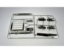 tamiya Q-Parts Grille chrome King Hauler 56301