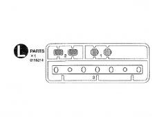 tamiya L Parts for 56313