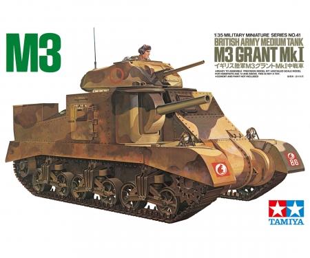 tamiya British M3 Grant Tank