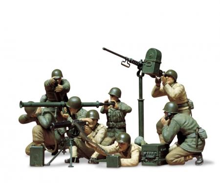 tamiya 1:35 Fig.-Set US MG/Mörser Trupp(8)