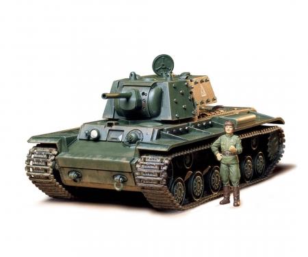 tamiya 1:35 Sov. KV-1B 1940 Heavy MBT (1)