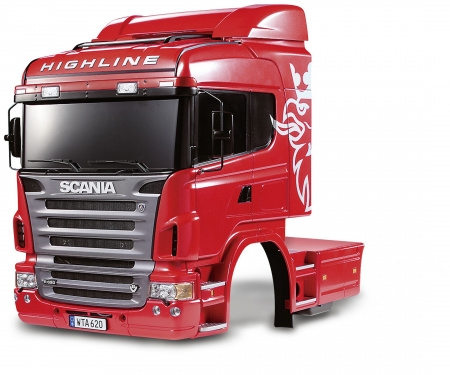 tamiya 1:14 Body-Set Scania R620 6x4 Highline