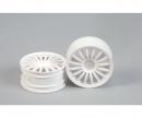 tamiya 1:10 16-Sp. Wheel (2) white 26mm