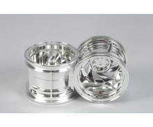 tamiya Double Blaze Wheels chrome (1+1)