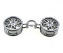 tamiya 1:10 Y-Spoke Wheels grey 26mm (2)