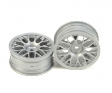 1:10 Y-Spoke Wheels grey 24mm (2) +2