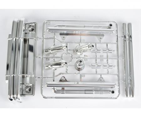 tamiya C-Parts bumper chrome for 58347
