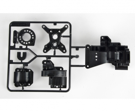 tamiya TA01/DF01 B-Teile Getriebegehäuse hinten