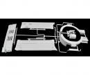 tamiya N-Parts Front Grille/wheel housing 56305