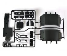 tamiya R-Parts Exhaust/Fender 56305