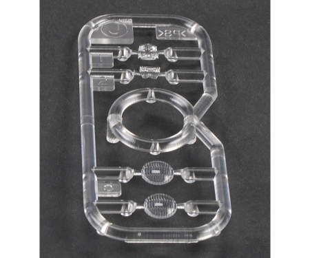 tamiya J-Parts clear Pershing for 56016