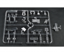 tamiya H-Parts clear Leopard for 56020
