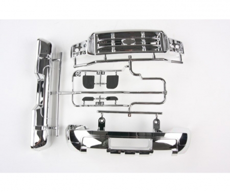 tamiya M-Parts bumper chrom 58372