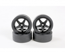 tamiya 1:10 Tire(w/Wheel) (4 pcs.)for 58386