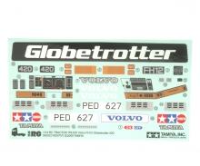 tamiya Sticker Truck Volvo FH12 Globetrotter