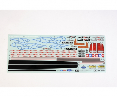 tamiya Sticker Ford F350 58372