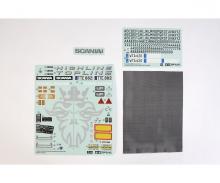 tamiya Sticker Bag Scania R620 6x4 Highline
