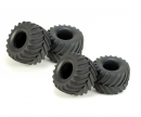 tamiya Tire (4) Lunch Box for 58063