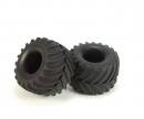 tamiya Tire (2) for 58065