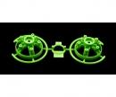 S-Teile Felgeneinsätze (2) grün 58662