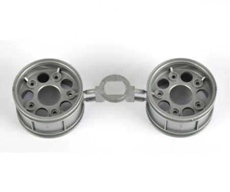 tamiya Porsche 911 RSR Re.Wheel silv. 30mm (2)