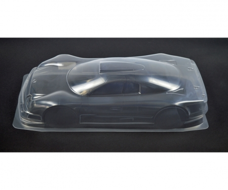 tamiya BODY W/OUT HOLES(TRANSPARENT:1.0t):58214