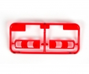 tamiya BB Parts Clear Red Parts MB Actros 56335